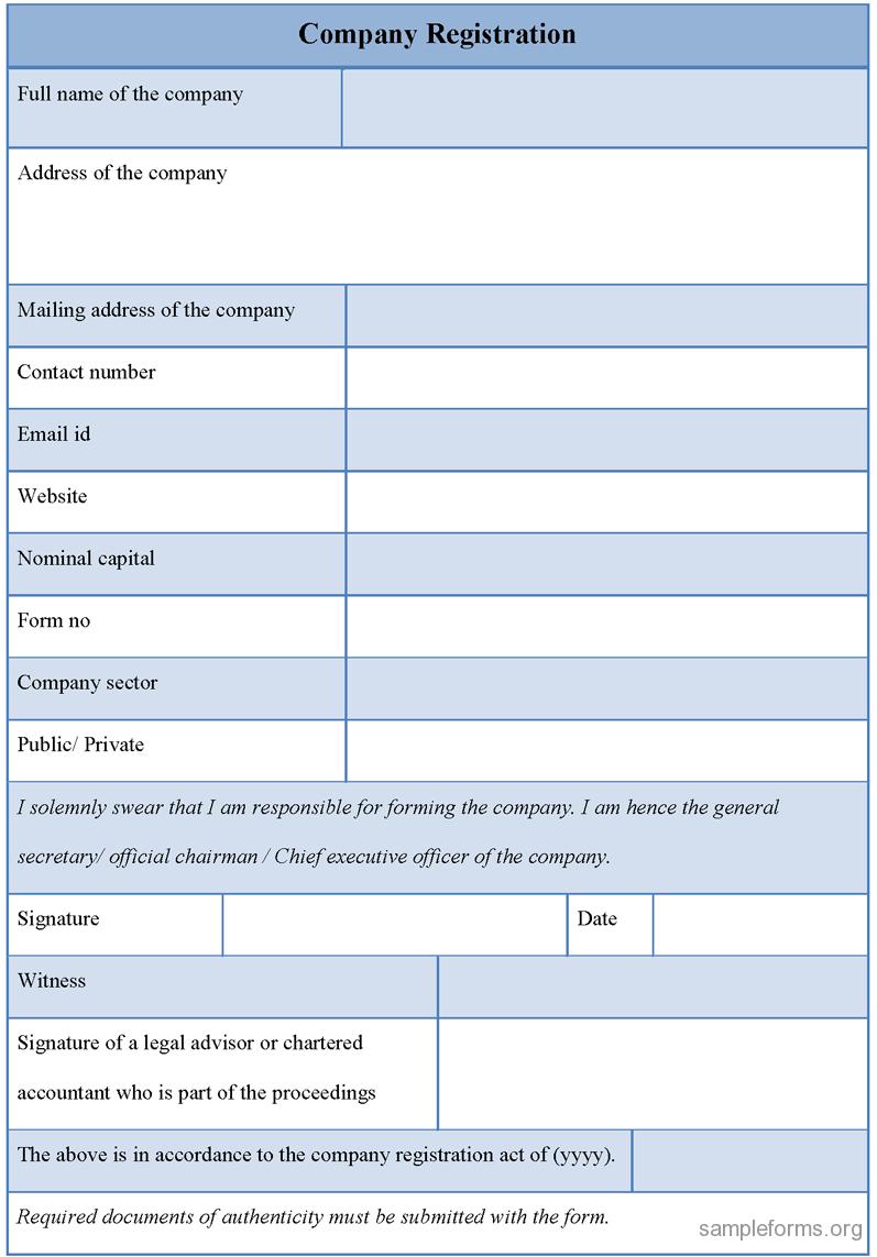 Company-Registration-Form